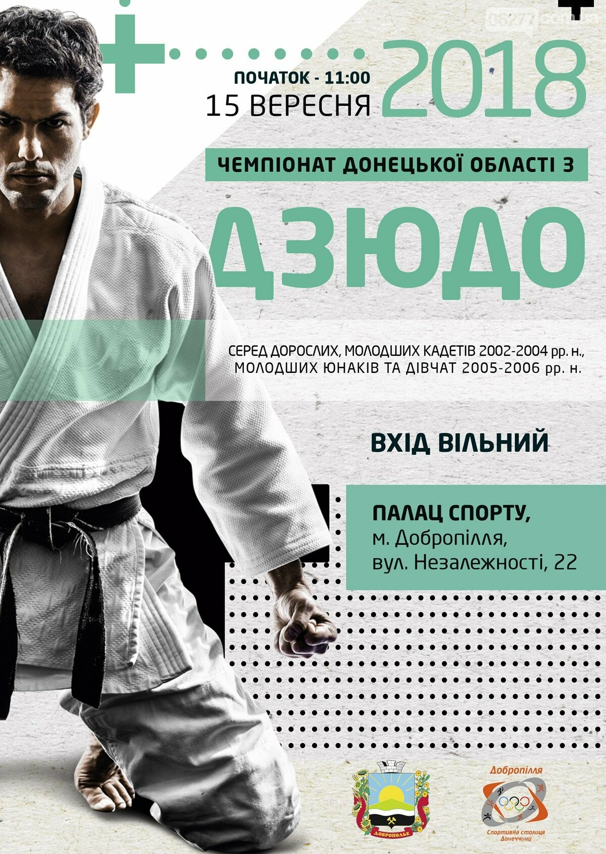У Добропіллі цими вихідними відбудеться чемпіонат області з дзюдо, фото-1