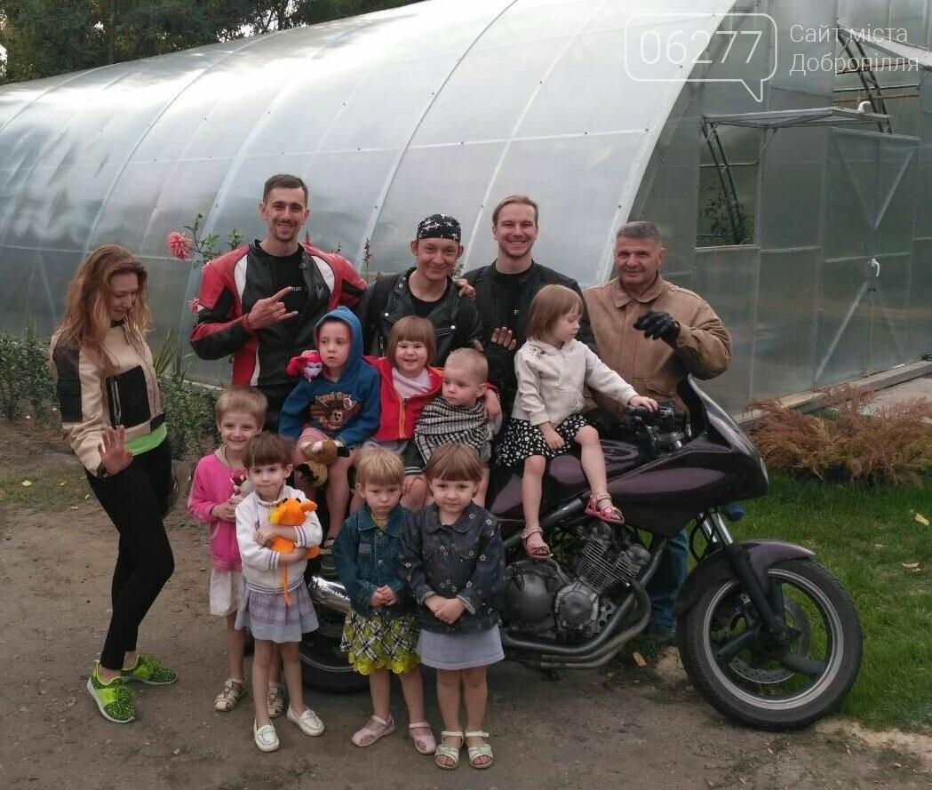 Мотоциклисты Доброполья приняли участие в благотворительной акции, фото-2