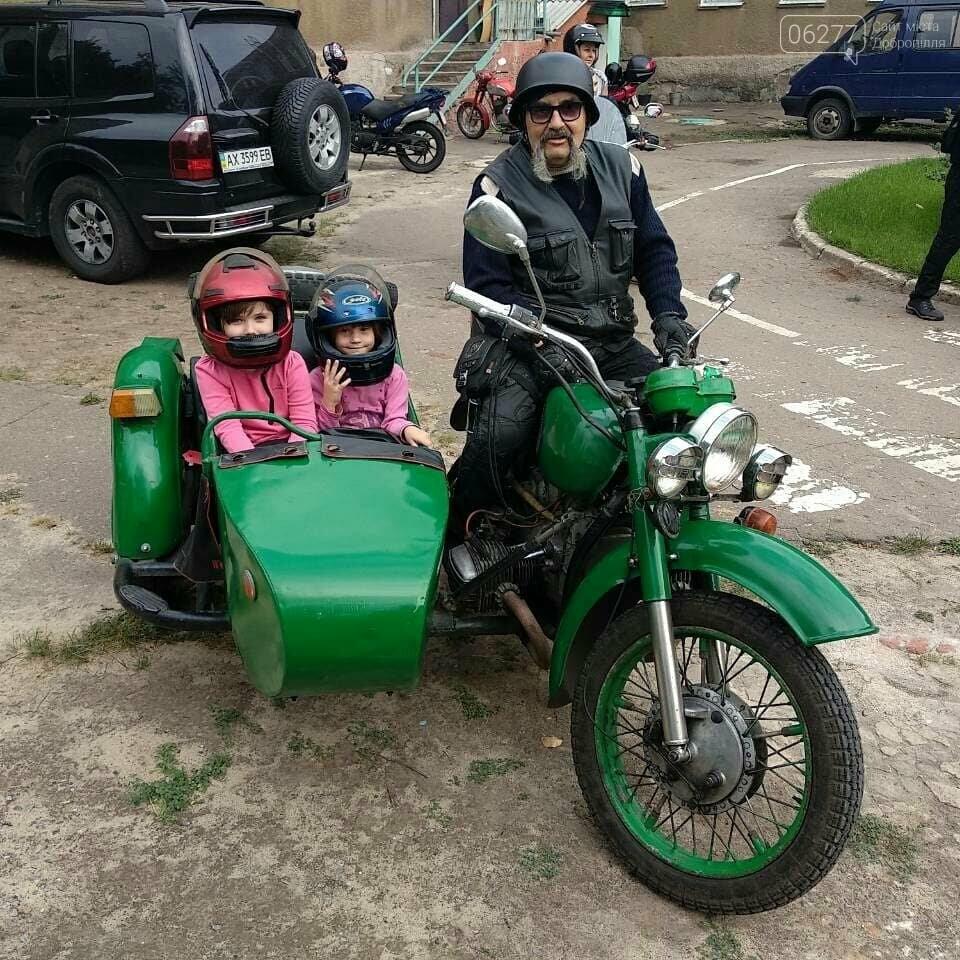 Мотоциклисты Доброполья приняли участие в благотворительной акции, фото-1