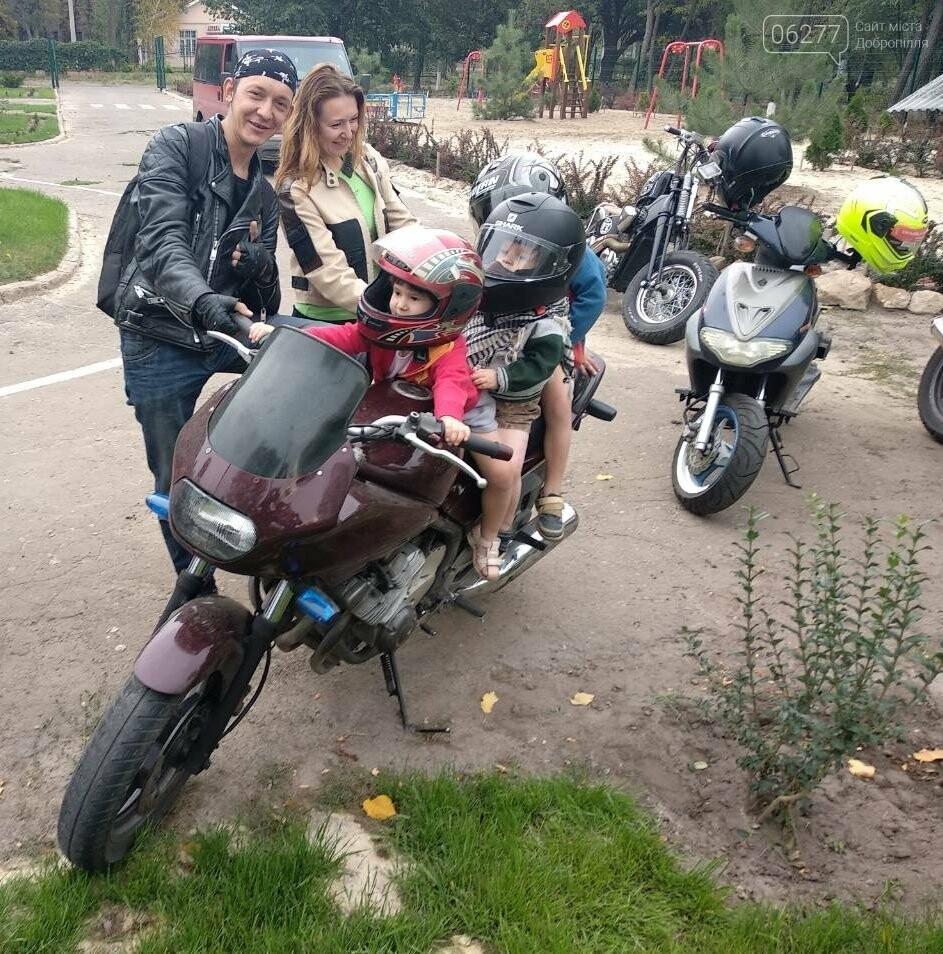 Мотоциклисты Доброполья приняли участие в благотворительной акции, фото-3