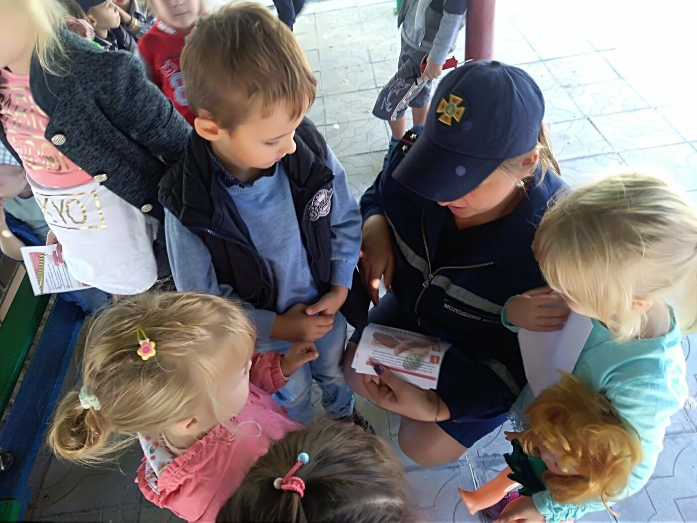 У Добропіллі співробітники ДСНС навчають дітей основам безпеки життєдіяльності, фото-2