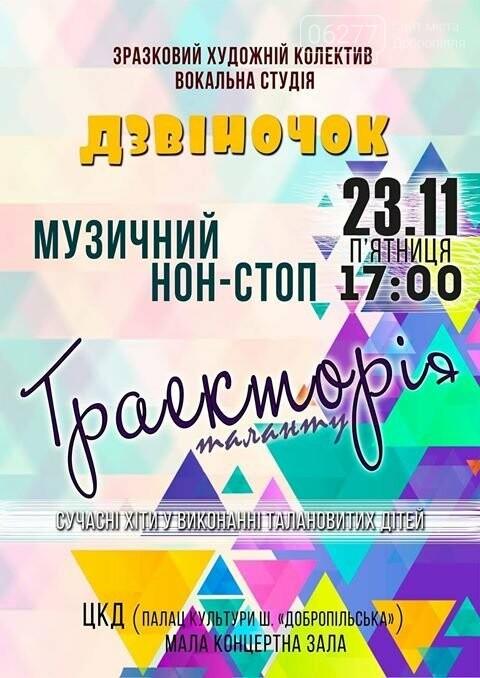 Жителей Доброполья приглашают посетить необычный концерт, фото-1