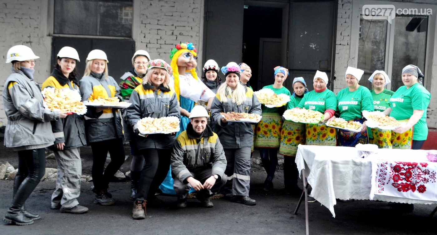 Маcленицу в Доброполье встречали блинами и народными забавами, фото-3