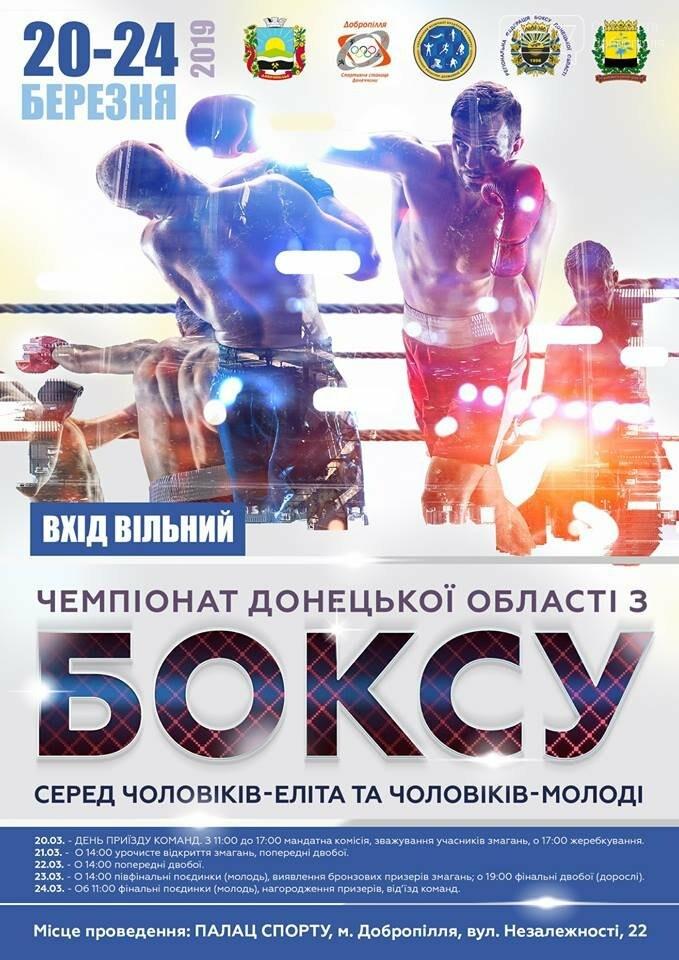 В Доброполье проведут Чемпионат области по боксу, фото-1