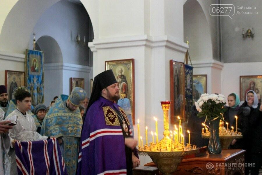 17 марта епископ Добропольский Спиридон совершит литургию в Покровском храме г.Доброполья, фото-1