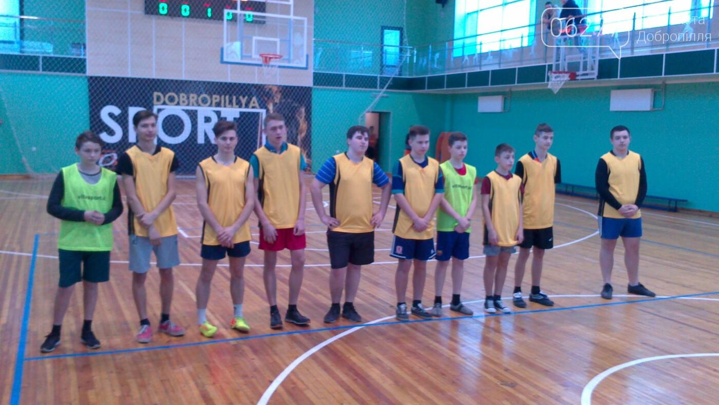 У Добропіллі відбувся черговий тур чемпіонату міста з баскетболу, фото-1