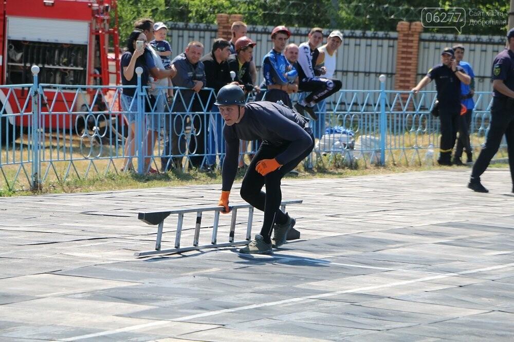 Змагання з пожежно-прикладного спорту: третю сходинку п'єдесталу посіли бійці 19-го ДПРЗ Добропілля, фото-2