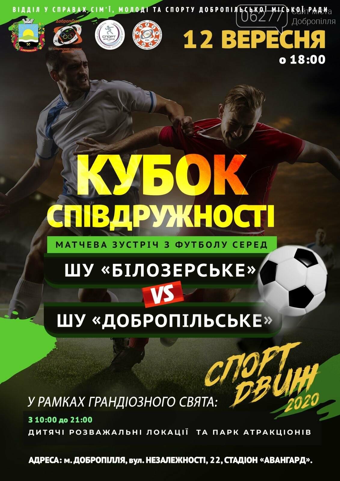 Спортивные выходные в Доброполье: афиша на 12 сентября, фото-3