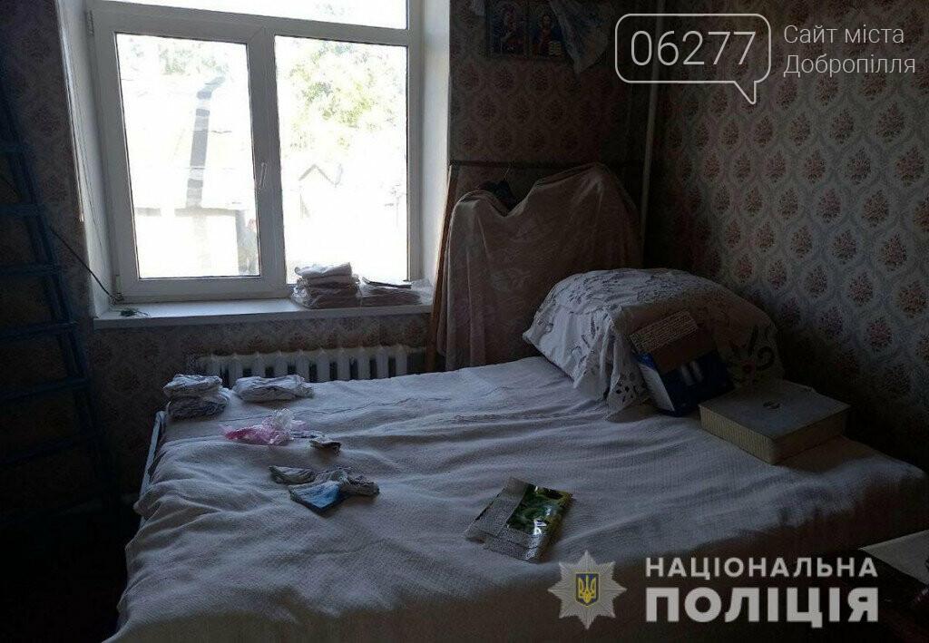 На Донетчине рецидивист в маске, очках и перчатках ограбил пенсионерку в ее собственной квартире, фото-1