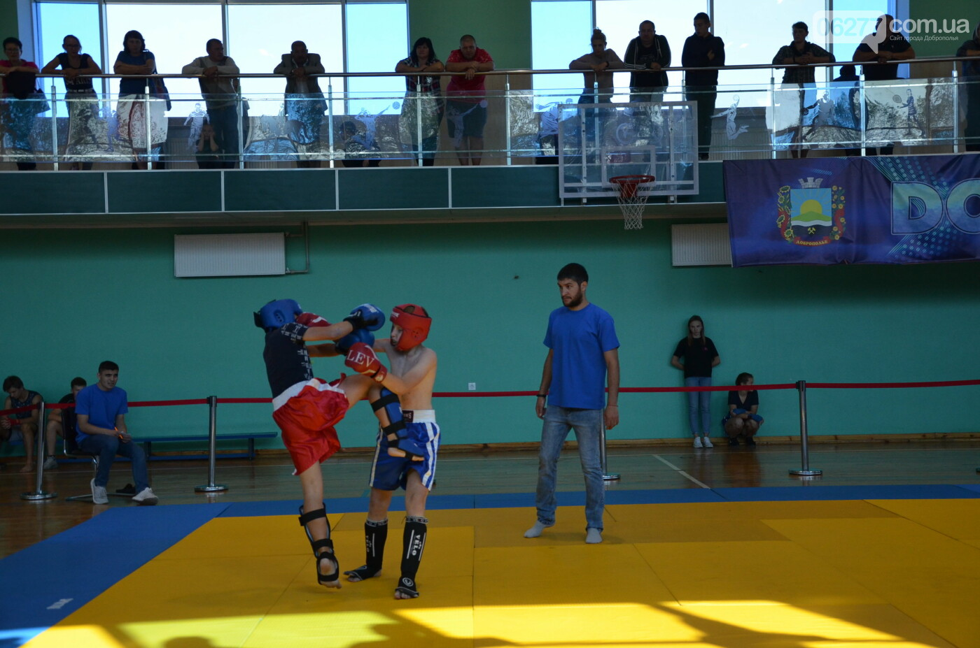 Турнір з кікбоксингу відбувся у Палаці спорту Добропілля, фото-1