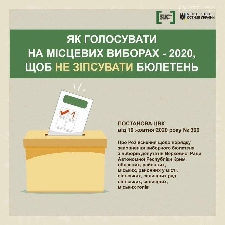Выборы-2020: как добропольчанам не испортить бюллетень, фото-1
