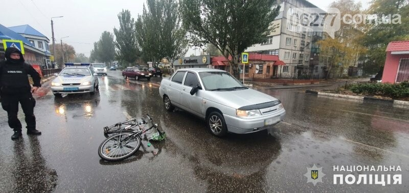 Поліція Добропілля встановлює обставини ДТП, у якій постраждав велосипедист, фото-1