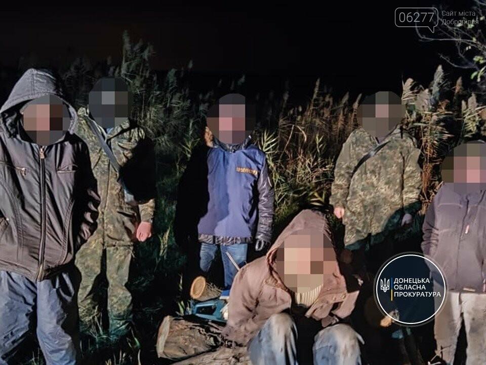 В Донецкой области банда лесорубов «проредила» лес на полмиллиона гривен, фото-1
