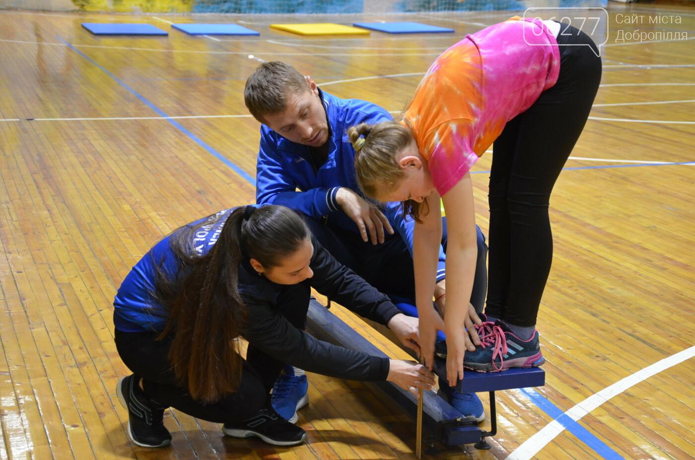 У Добропіллі продовжується щорічне оцінювання фізичної підготовки населення, фото-4