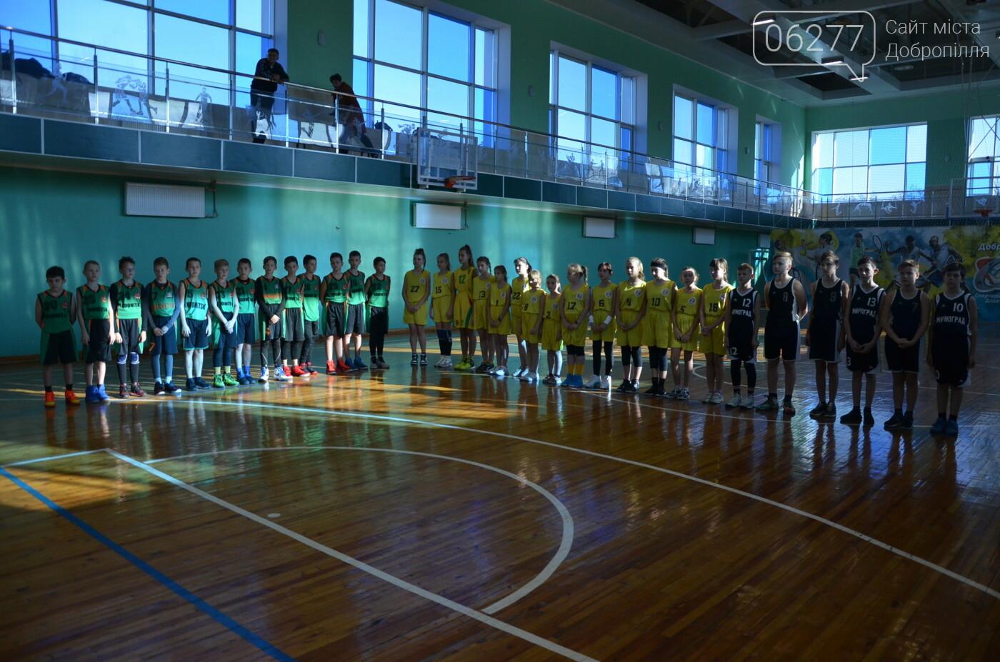 Відкрита Першість ДЮСШ з баскетболу відбулась у Добропіллі, фото-1