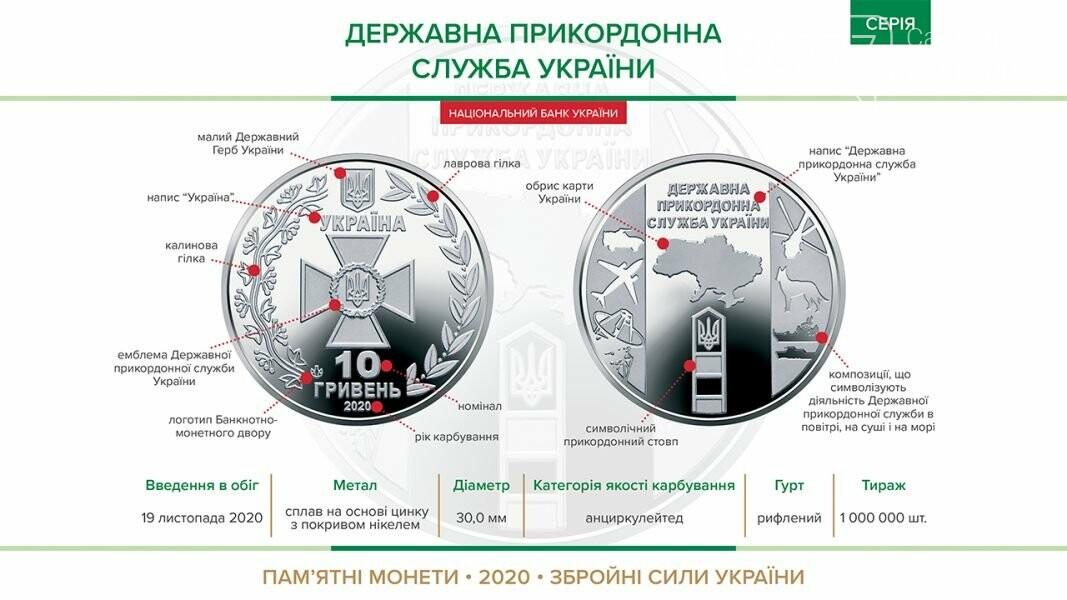 В Украине вводят в оборот новую 10-гривневую монету, фото-1
