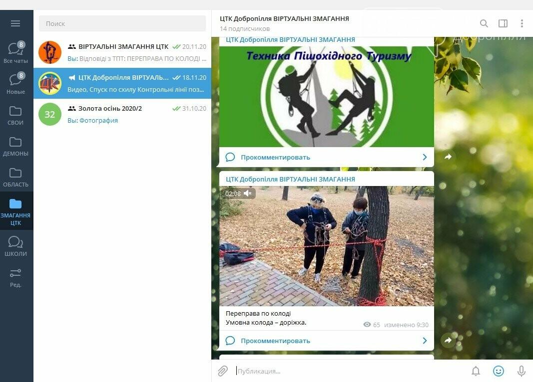 Відбувся Online-зліт 2020 з пішохідного туризму серед учнівської молоді м. Добропілля, фото-1