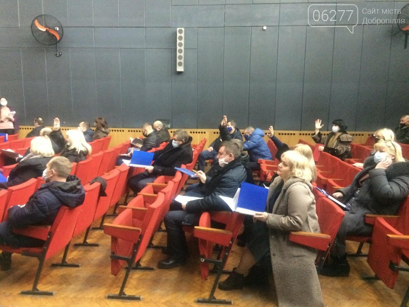 У Добропіллі відбулася друга чергова сесія міської ради VIII скликання, фото-3