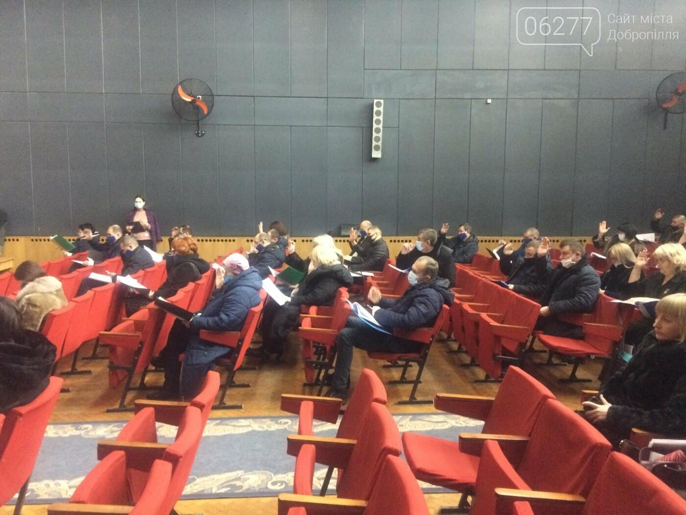 У Добропіллі відбулася друга чергова сесія міської ради VIII скликання, фото-2