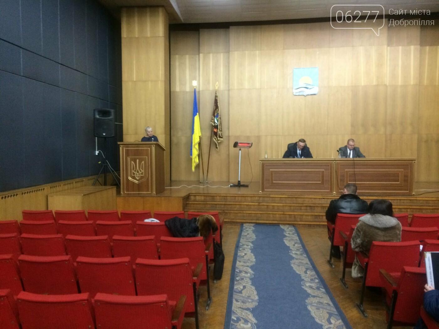 У Добропіллі відбулася друга чергова сесія міської ради VIII скликання, фото-1