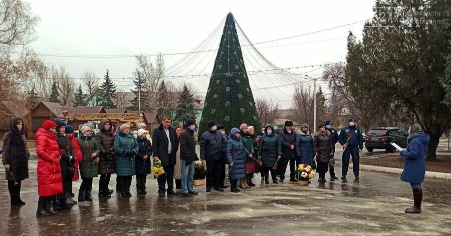У Добропіллі вшанували ліквідаторів наслідків аварії на Чорнобильській АЕС, фото-1