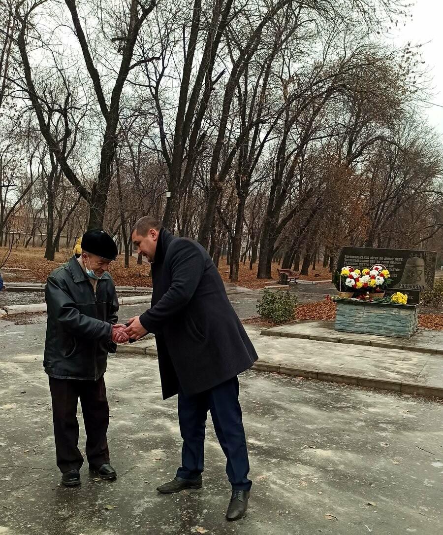 У Добропіллі вшанували ліквідаторів наслідків аварії на Чорнобильській АЕС, фото-2