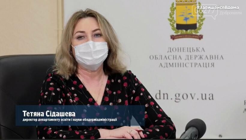 Навчальні заклади Добропільщини перейдуть у дистанційний режим, фото-1