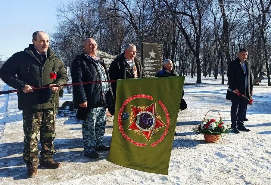 В Добропіллі вшанували пам'ять учасників бойових дій на територіях інших держав, фото-1
