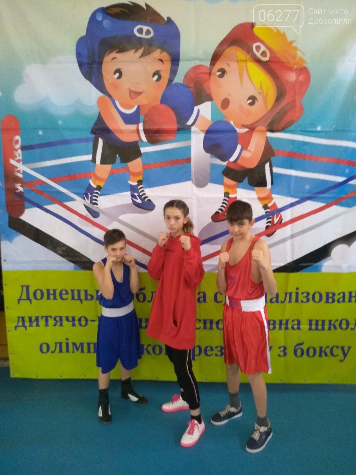 Юні боксери Добропілля - чемпіони та призери Відкритої першості СДЮСШОР з боксу, фото-2