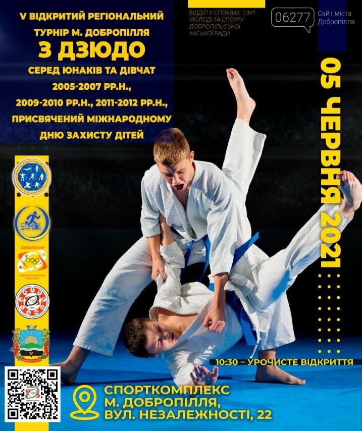 В Доброполье пройдет турнир по дзюдо, фото-1