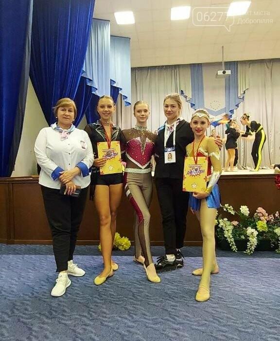 Добропільські  черлідери - чемпіони та призери київського чемпіонату , фото-4